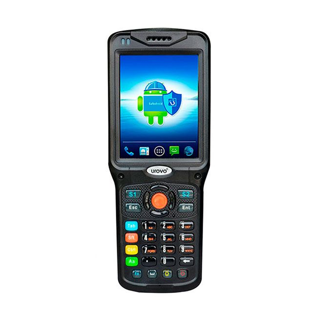 "ТСД Urovo V5100, Android 4.3, 2D Imager, Motorola SE4500 (soft decode), Bluetooth, Wi-Fi, GSM, 2G, 3G, RAM 1Gb, ROM 8GB, 3.5"", 480 x 640, 31 клавиша, 4500 mAh, IP 64, Арт. MC5150-SS2S4E0000 картинка товара AuTrade.ru"